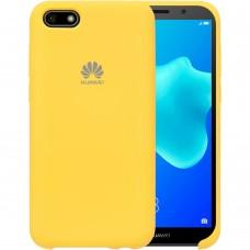 Силикон Original Case Huawei Y5 Prime (2018) / Honor 7A (Жёлтый)