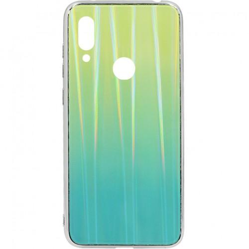 Накладка Gradient Glass Case Xiaomi Redmi Note 7 (Зелёный)