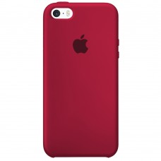 Силикон Original Case Apple iPhone 5 / 5S / SE (04) Rose Red