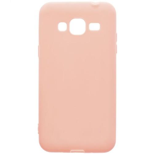Силиконовый чехол SMTT Samsung J2 Prime G530 Розовый