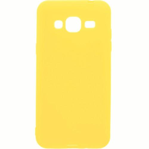Силикон iNavi Color Samsung Galaxy J3 (2016) J320 (желтый)
