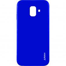 Силикон iNavi Color Samsung Galaxy A3 (2016) A310 (Тёмно-синий)