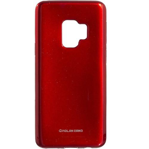 Силиконовый чехол Molan Shining Samsung S9 (Красный)