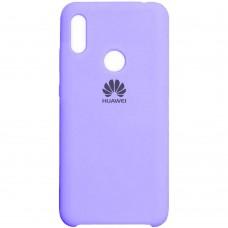 Силиконовый чехол Original Case Huawei Y6 Pro (2019) / Honor 8A (Фиолетовый)