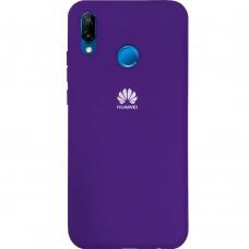 Силиконовый чехол Original Case Huawei P20 Lite (Фиолетовый)