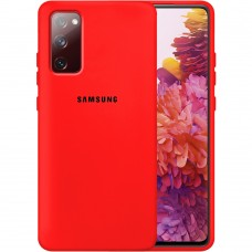 Силикон Original Case Samsung Galaxy S20 FE (Красный)