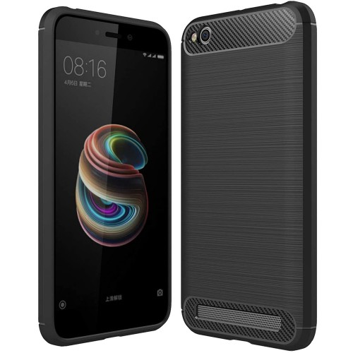 Силикон Polished Carbon Xiaomi Redmi 4a (Черный)