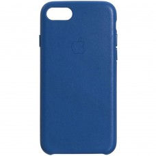 Чехол Leather Case for Apple IPhone 7 / 8 (Electric Blue)