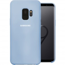 Силикон Original Case Samsung Galaxy S9 (Голубой)