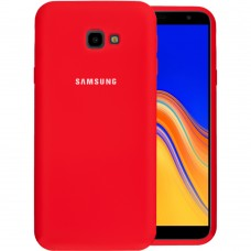 Силикон Original Case Samsung Galaxy J4 Plus (2018) J415 (Красный)