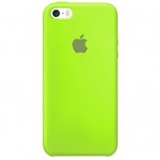Силикон Original Case Apple iPhone 5 / 5S / SE (27) Grass Green
