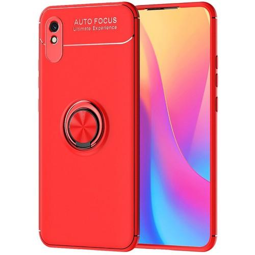 Чехол Ring Silicone Case Xiaomi Redmi 9A (Красный)