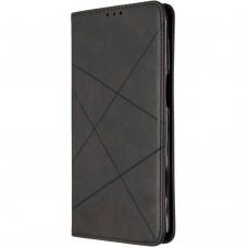 Чехол-книжка Leather Book Xiaomi Poco M3 (Чёрный)