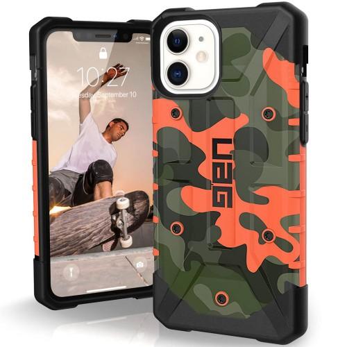 Чехол Armor UAG Сamouflage Case Apple iPhone 11 (Оранжевый)
