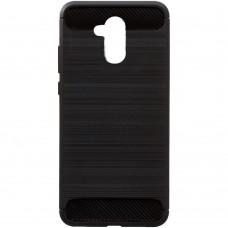 Силикон Polished Carbon Huawei Honor 6a (черный)