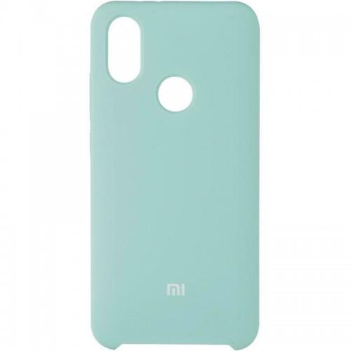 Силиконовый чехол Original Case Xiaomi Mi6x / Mi A2 (Бирюзовый)