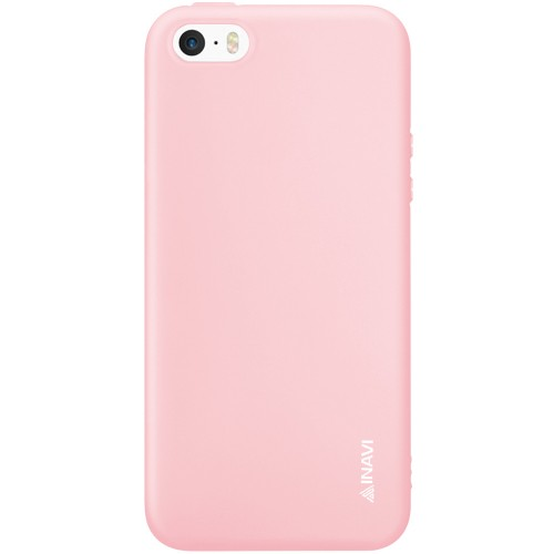 Силикон iNavi Color Apple iPhone 5 / 5s / SE (персик)