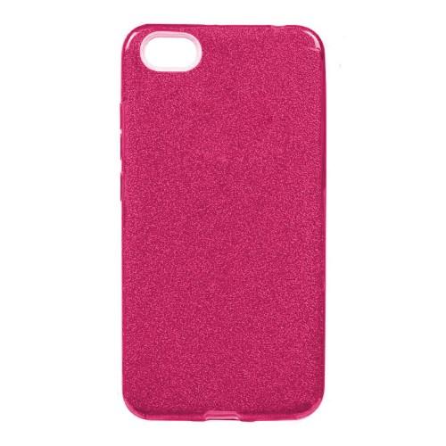 Силикон Glitter Apple iPhone 5 / 5s / SE (Розовый)