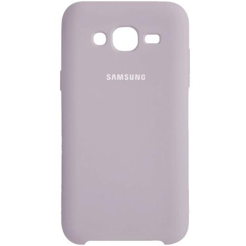 Силиконовый чехол Original Case Samsung Galaxy J5 (2015) J500 (Лаванда)