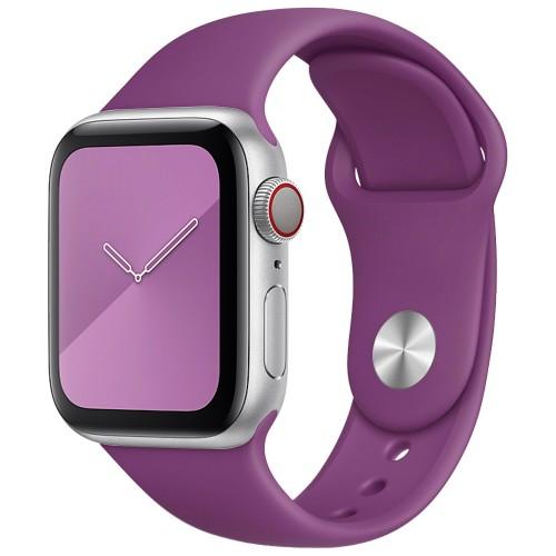 Ремешок Apple Watch Silicone 38 / 40mm (28) Brinjal
