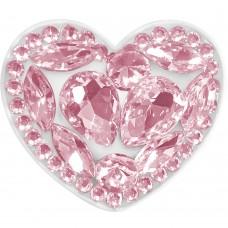 Холдер Popsocket Diamond Heart (Розовый)