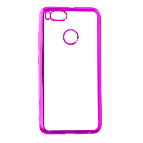 Силиконовый чехол UMKU Line Xiaomi Mi4c (Розовый)