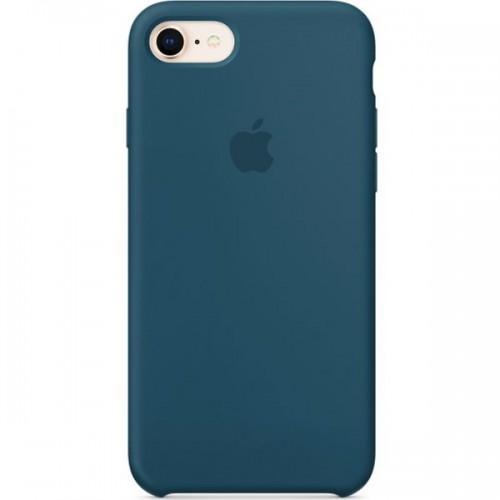 Чехол Silicone Case Apple iPhone 7 / 8 (Cosmos Blue)