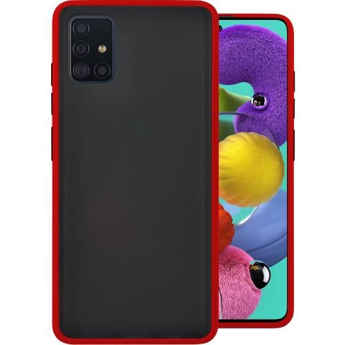 Накладка Totu Gingle Series Samsung Galaxy A51 (2020) (Красный)