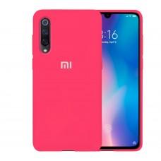 Силикон Original Case Xiaomi Mi9 (Малиновый)
