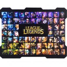 Коврик для мышки L-18 (32*25*0.2cm) (League Of Legends)