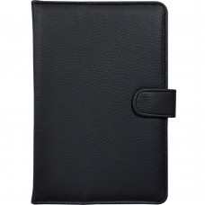 Чехол-книжка Universal Leather Pad 8 (Чёрный)