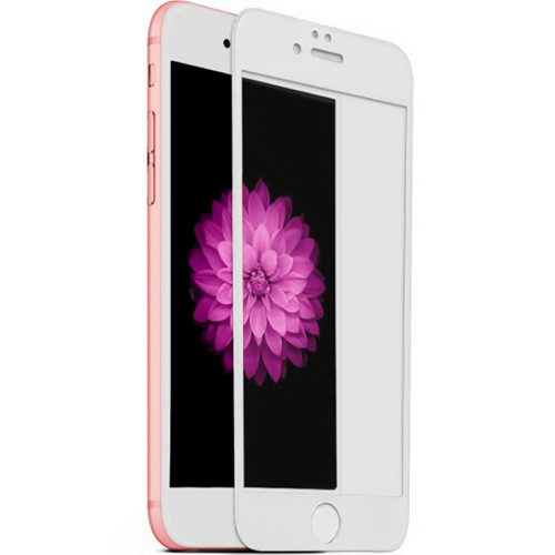 Стекло 5D Apple iPhone 6 / 6s White