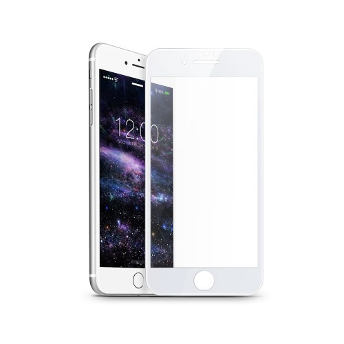 Стекло 5D Apple iPhone 7 / 8 White