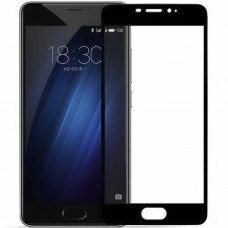 Стекло Meizu M3 Note Black