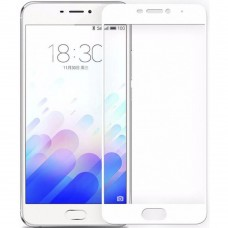Стекло Meizu M3 Note White