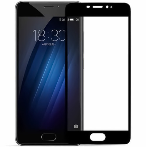 Стекло 3D Meizu M6 Note Black