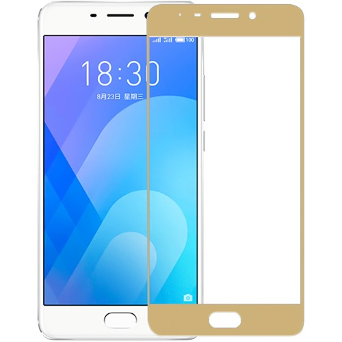 Стекло Meizu M6 Note Gold