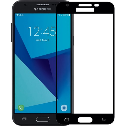 Стекло 5D Samsung Galaxy J3 (2017) J330 Black
