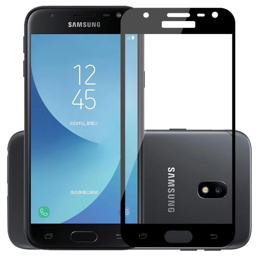Стекло 5D Samsung Galaxy J5 (2017) J530 Black