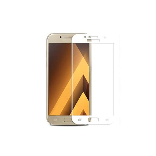 Стекло 3D Samsung Galaxy A3 (2017) A320 White