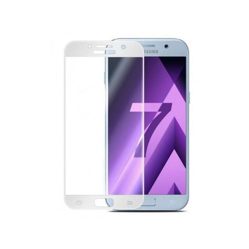 Стекло 3D Samsung Galaxy A7 (2017) A720 White