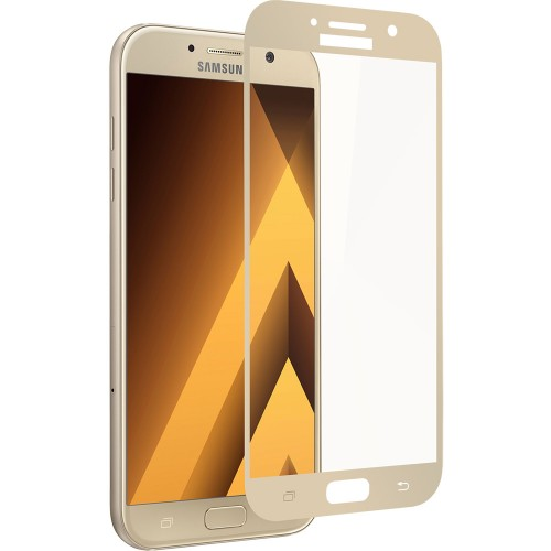 Стекло 3D Samsung Galaxy J3 (2017) J330 Gold