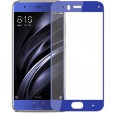 Стекло 3D Xiaomi Mi6 Blue