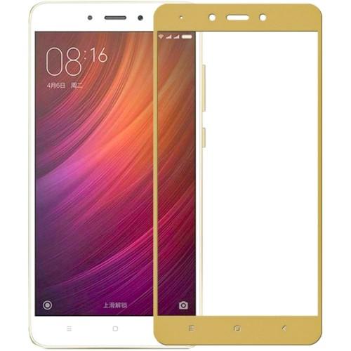Защитное стекло для Xiaomi Redmi 4x Gold