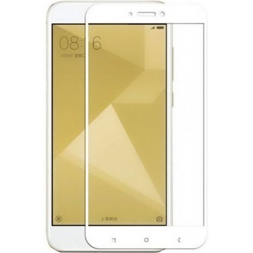 Защитное стекло для Xiaomi Redmi 4x White