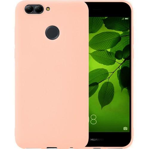 Силиконовый чехол iNavi Color Huawei Nova 2 (розовый)