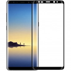 Стекло 5D Curved Samsung Galaxy Note 8 Black