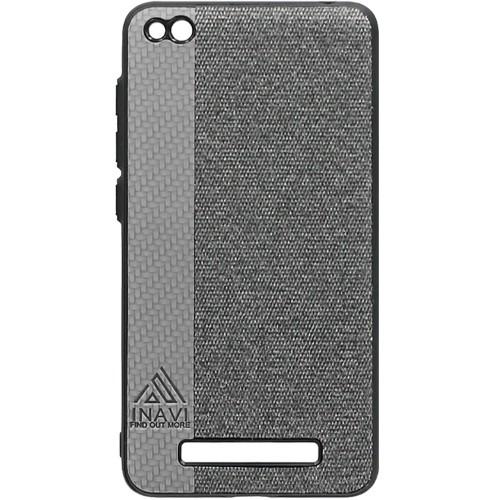 Силиконовый чехол Inavi Xiaomi Redmi 4a (серый)