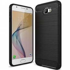 Силикон Polished Carbon Samsung Galaxy J5 Prime G570 (Чёрный)