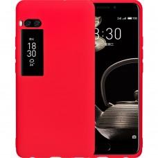 Силикон iNavi Color Meizu Pro 7 Plus (Красный)